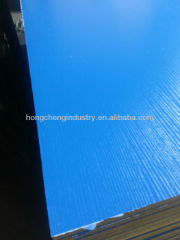 18mm embossed Melamine MDF Board