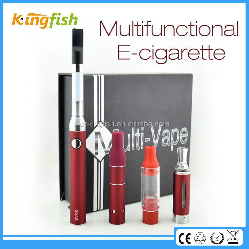 Kingfish product airflow control portable dry herb vaporizer vape pen with 6 colors