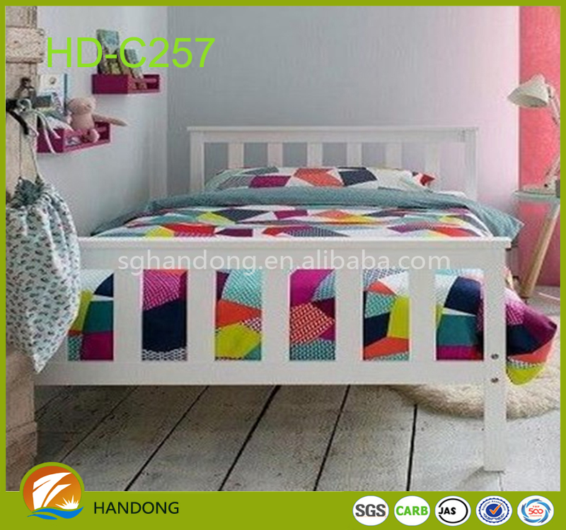 Children Furniture Classic Design Wooden Bed Kids Wood Bedroom Furniture