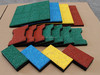 Recycled rubber paver,gym flooring, kids play room flooring