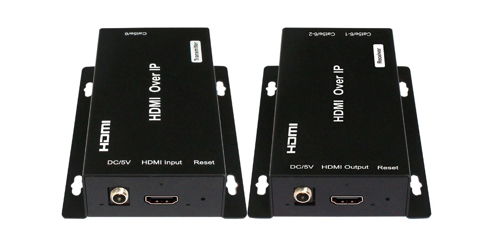 120m HDMI Extender over IP Including One Transmitter And One Receiver