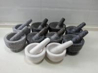 Eco-friendly marble/granite stone mortar and pestle/morter & pestle