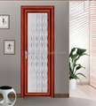 Excellent waterproof aluminum bathroom door