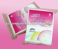 High quality Hot sale soft steriled cosmetic square shape cotton pad with CE
