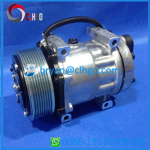 7H15 PV8 119MM <strong>12V</strong> <strong>R134a</strong> Auto AIR CONDITIONING Compressor FOR GRAYSLER JEEP/DODGE PICK UP