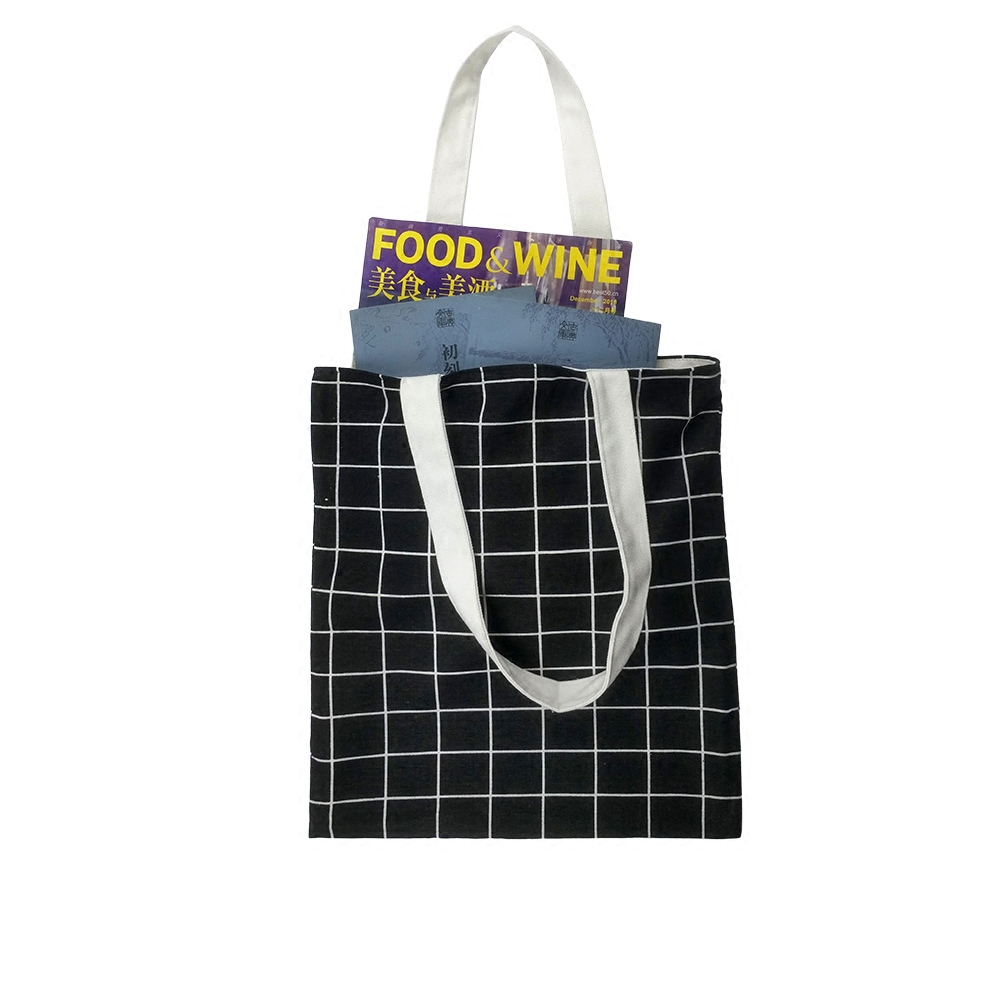 oem cheap promotional funny cotton shopping bag