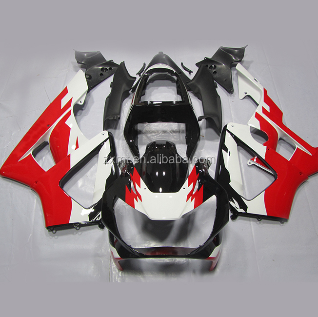 ABS Material motorcycle fairing for CBR/GSXR/ZX/YZF /VFR/NINJA factory price MOQ is 1 pcs woman face logo painting