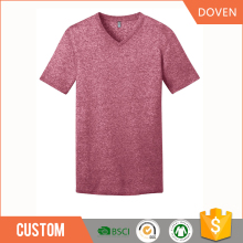 Custom dry fit deep V-neck t-shirt women