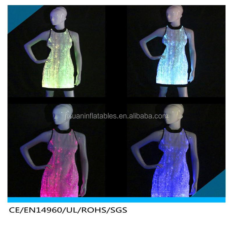 Exotic & Sexy Ballroom Dancing Dress / Luminescent Multicolor Performance Wear