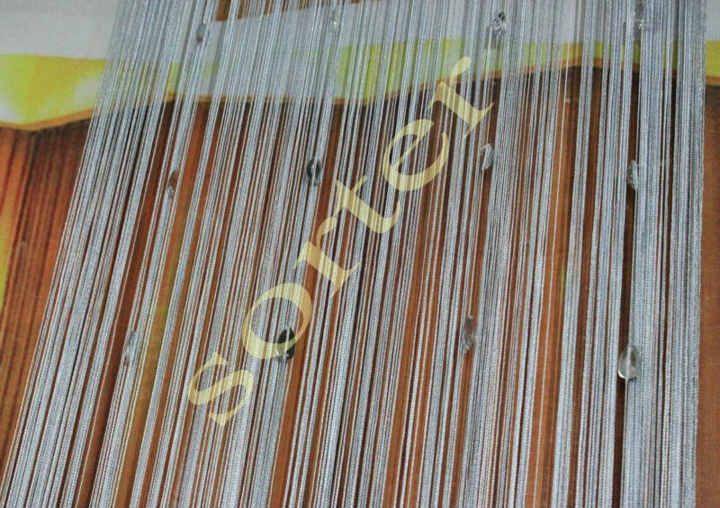 argento tende stringa con perline-Persiane e tapparelle rifugio-Id prodotto:1195366992-italian ...