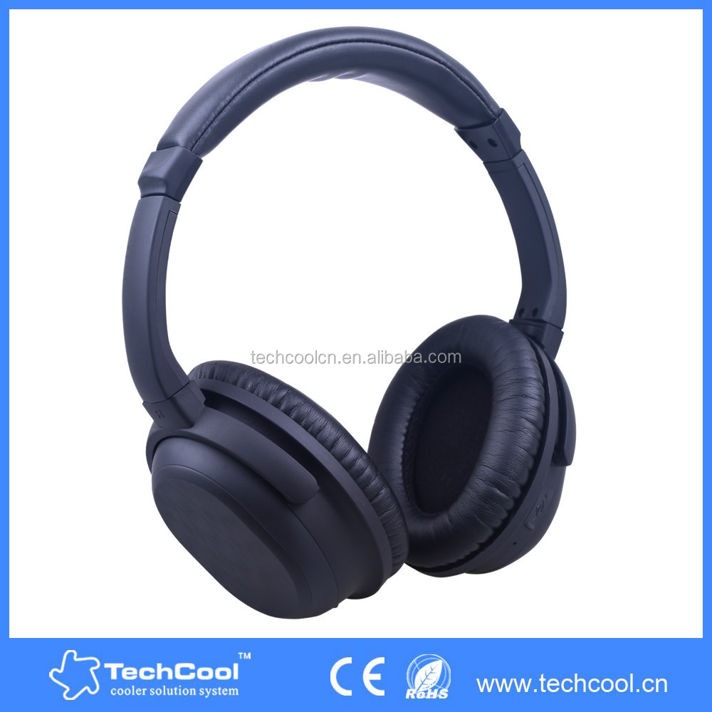 sports over ear noise cancellation bluetooth headset anc. Black Bedroom Furniture Sets. Home Design Ideas