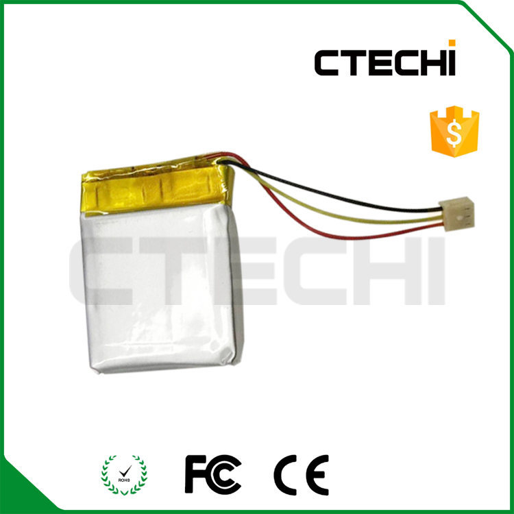 Rechargeable LP402025 Li-Polymer Battery 402025 3.7v 140mah lipo battery cell made in Shenzhen China