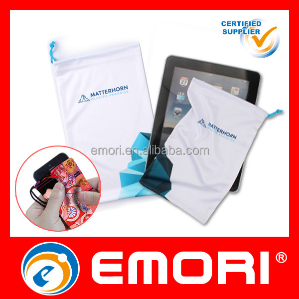 2017 Best Seller Full Color Print Fashion microfiber tablet pouch