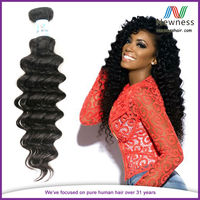 Double Strong Wefts raw unprocessed virgin indian hair brazilian virgin hair