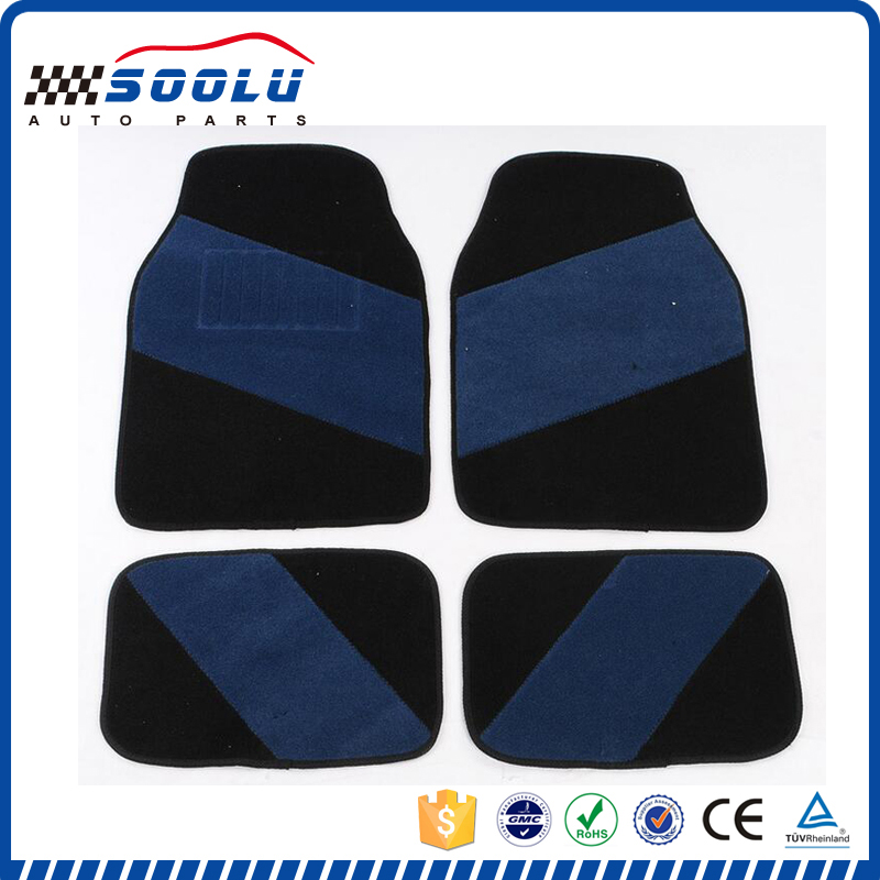Universal 4 pieces full set carpet floor mats car carpet mat