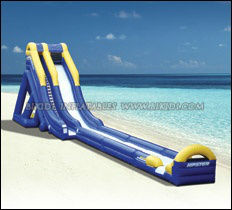 Inflatable large water slide in high quality B4083
