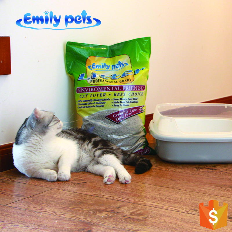 Sample free pet cleaning classic kitty litter