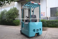 mini 1ton electric forklift truck/narrow aisle forklift