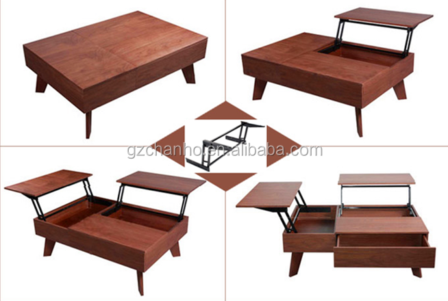 vente chaude ascenseur up table basse m canisme avec ressort gaz table l vatrice haut. Black Bedroom Furniture Sets. Home Design Ideas