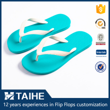 custom cheap wholesale beach slippers rubber flip flops women