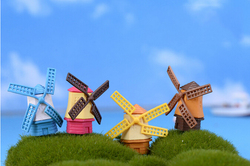 4 CM model Windmill House for architectural model making