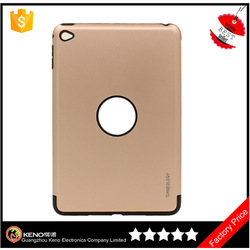 Cheap price cover for ipad mini 4 hybrid Durable tpu pc combo case