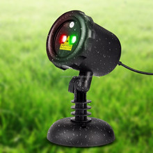 Outdooor Garden Laser Light Indoor laser Lighting Projector Static RG Christmas Light