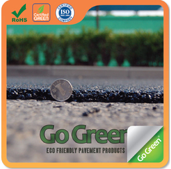Go Green micro-paving cold mix asphalt designed for construction and maintenance of wearing courses