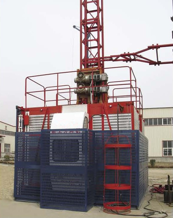 ISO SC200/200 Construction hoist, Construction elevator low price