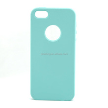Wholesale Great Smooth Colorful Solid Silicone Case For girls Cell Phone Case For iphone 5