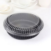 round plastic cake catering tray