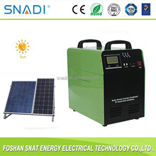 1000W/24V off grid portable solar panel power system with battery for home