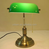 Buy Traditional Bankers Lamp with Green Shade/classic bankers lamp ...