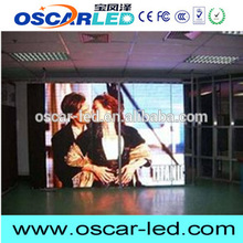 Small pitch Oscarled P2.5 mm indoor advertising led tv display with great price