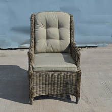 Modern design outdoor garden wicker chair