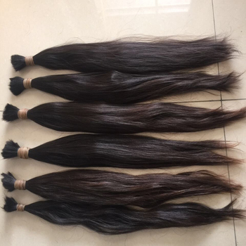 Made In India Products Factory in Anhui big Large Stock Virgin Human Hair 100% human hair bulk