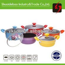 new product for 2015, new products 2015-aluminum no fire re-cooking pot energy saving cooking pot,large cooking pots for sale
