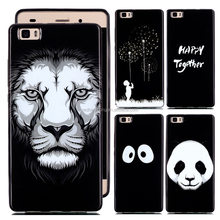 High Quality Soft TPU Back Case Printed Mobile Phone Cover For Huawei P8 Lite