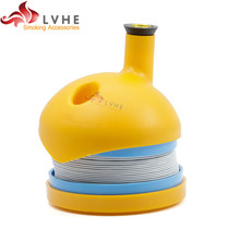 T336PM Tolly Plastic Flexible Tobacco Pipe