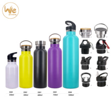 Wholesale stocked no minimum Gym Accessories Stainless Steel Metal <strong>Sports</strong> Fitness Outdoors Water Bottle