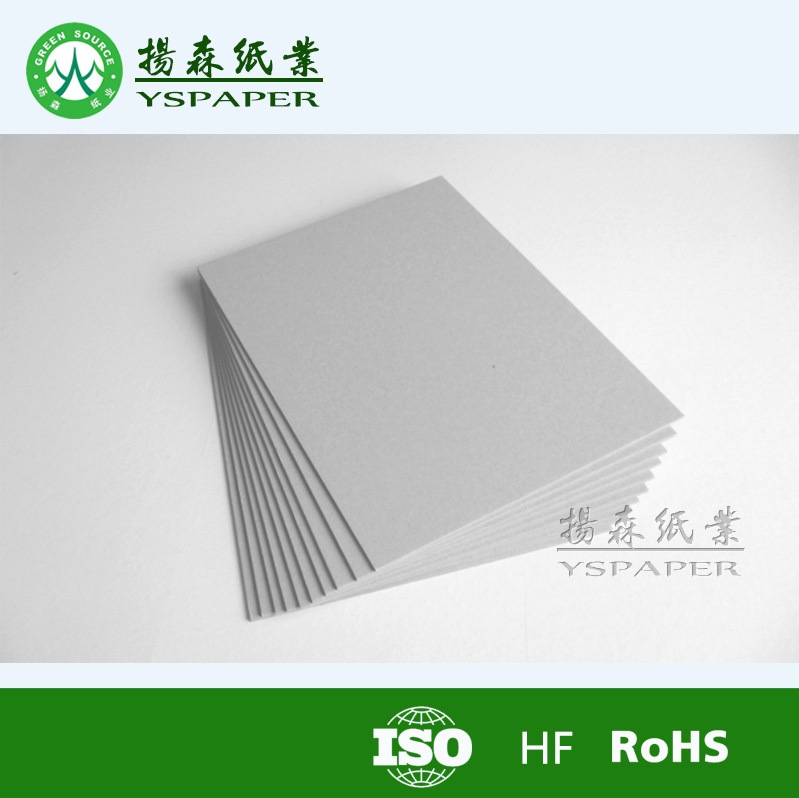 Good quality 1-2mm grey board for Canada/grey board manufacturer in dongguan