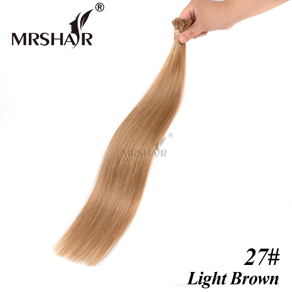 Most Popular Factory Price Buy Wholesale I Tip Keratin Human Hair Per Bonded Hair Extensions