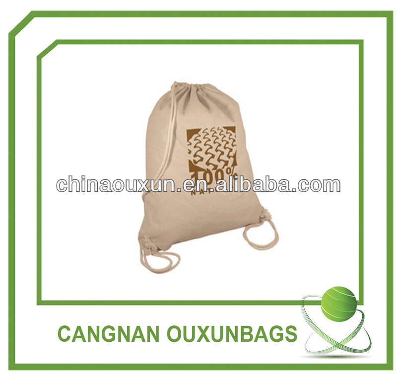 HOT SALE New Design DIY cotton drawstring bag
