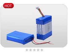 Flat lithium battery pack ,14.4v lithium battery pack 1700mAh