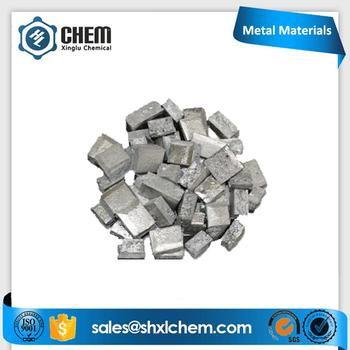Low price MgSc10 Magnesium Scandium Master Alloy