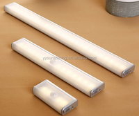 Lithium battery operated led motion sensor light for cabinet and kitchen and furniture