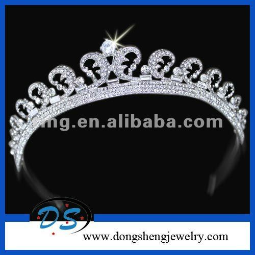 crystal crown tiaras and crowns cheap wholesale wedding accessories