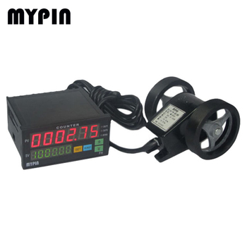 Digital Length/Position Counter FH8-6CRNB + Wheeled length sensor MLK-80