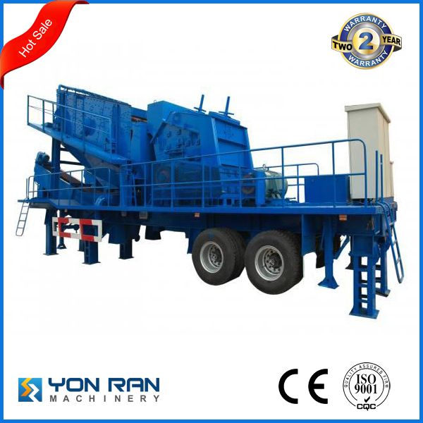 Crusher/Mobile Stone Crusher/Mobile Impact Crushing Machine/ Construction Crusher Equipment