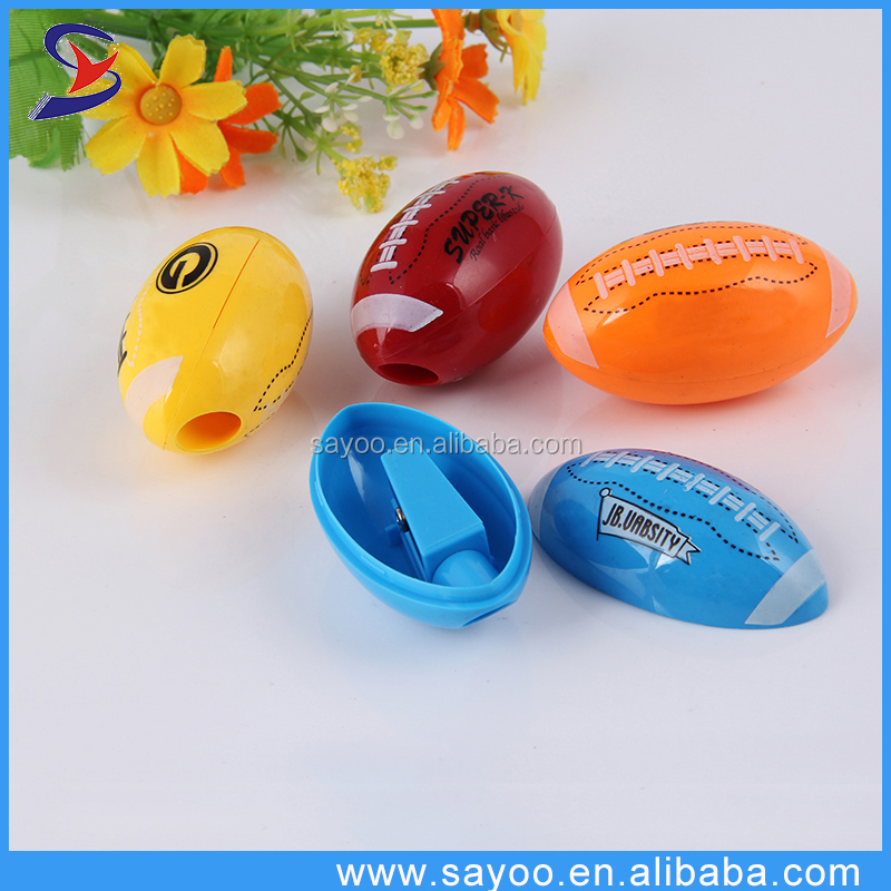 Hot sale Rugby pencil sharpener